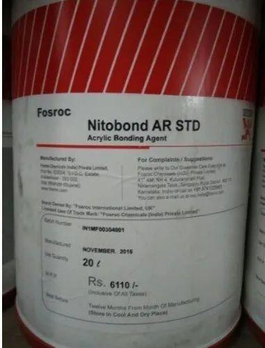 Fosroc Nitobond Ar Std 20 Ltr, फ़ॉसरोक ...