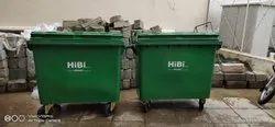Mobile Garbage Bin 660 Ltr