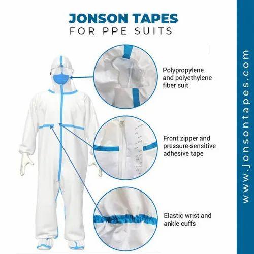 PPE Kit Seam Sealing Tape, SITRA Certified