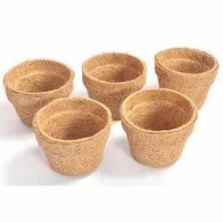 COIR GARDEN  6 inch coir pot