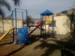 FRP Multi Station Playground Equipment