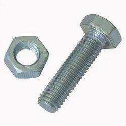 Mild Steel Nut Bolt, Packaging Type: Bag