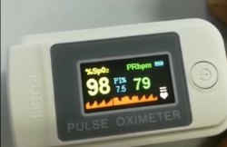 Make In India 4 Colour Oled Fingertip Pulse Oximeter