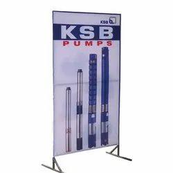PVC Rectangle 6 feet Display Banner for Advertising
