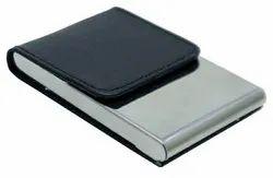 Black Leatherette Visiting Card Holder
