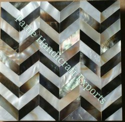 Natural Mosaic Gloss F929 Shell wall tiles, Thickness: 5-10 mm