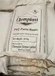 Pure Powder Chemplast PVC Resin Grade 124 Paste Grade, For Industrial, Packaging Size: 25