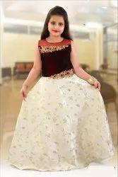 Designer Girls Party Wear Dress