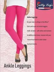 ANKLE LENGTH 4 WAY LYCRA LEGGINGS