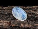 15Cts Blue Rainbow Oval Moonstone Cabochon