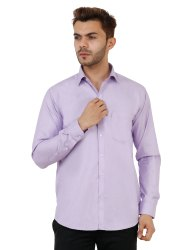 Purple Color Full Sleeve Casual Shirt