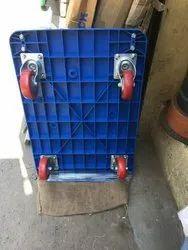 Platform Trolley, 150 kg Capacity (Blue)