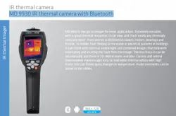 Metrel MD 9930 IR Thermal Camera with Bluetooth, Weight: 500g