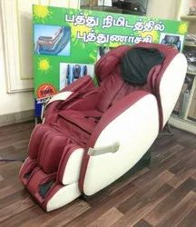 Leather Joy Massager Chair