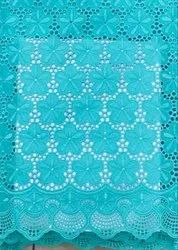 African Dry Cotton Lace Fabrics