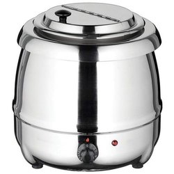 400 W Stainless Steel Soup Warmer, 220-240 V, Capacity: 10 Ltr
