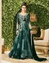 Designer Embroider Work Gown