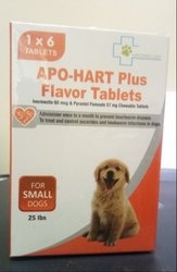Apo-Hart Plus Flavor Tablets (Small Dogs)