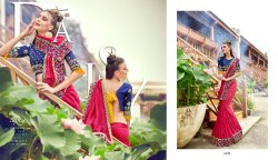 Pink Ethnic Fancy Silk Designer Sarees