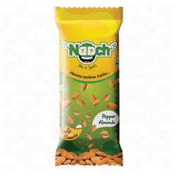 NAACH Salty Roasted Almonds Pepper 30 GMS