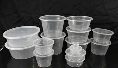 Food Packaging Container Food Packing Round Container
