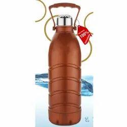 Plastic Grippy Primelife Nexa Unbreakable Insulated Water Bottle, Capacity: 1200mL