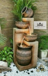 Beautiful Indoor Stone Fountain