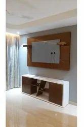 Wooden Wall Mounted Modular LCD Unit, Warranty: 1 Year