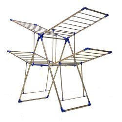 TNC 2 Layers Blue Butterfly Drying Stand