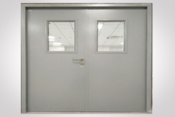 Polished Fire Rated Steel Door, Thickness: 5-20 Mm, Material Grade: Ss 304