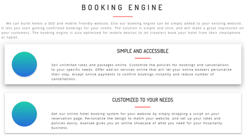 Hotel Booking Engine, Merchant Services, Online Payment