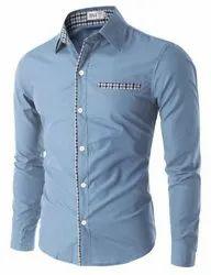 Printed Collar Neck Mens Casual and Formal Shirts
