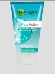 Garnier Pure Active Anti-Blackhead Deep Pore Face Wash