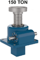 Hitork Worm Gear Screw Jacks Used For Steel - Hot And Cold Rolling Industry