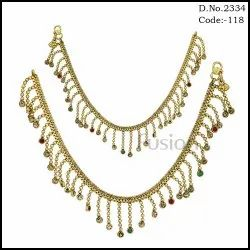 Traditional Stone Studded Payal