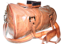 Goat Leather Sports Gym Bag