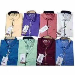 Collar Neck Casual Wear Men Readymade Cotton Shirt