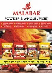 Powder and Whole Spices