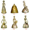 Dhokra Hanging Bell - Bronze Designer Bell