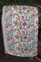 Indian Hand Block Printed  Baby Quilt