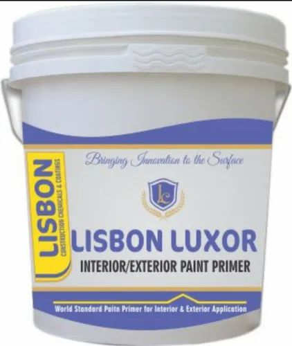 Gloss White Lisbon Interior Exterior Paint Primer Packaging Size 20 Ltrs Bucket Id 21766528255