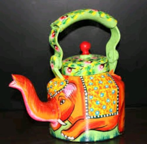 Hand Painted Aluminium Printed Tea Kettle, Model Name/Number: Desert Craft