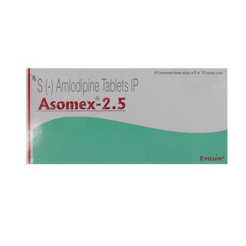 Asomex 2.5 MG Tablet, Packaging Size: 5 X 10 Tablets ,packaging Type:  Blister Strip, Rs 1000 /pack | ID: 20516144830
