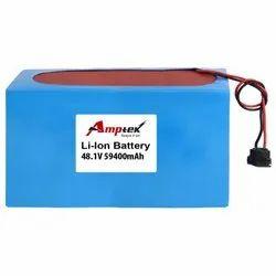 Li-Ion Battery Pack 48.1V 59400 Mah
