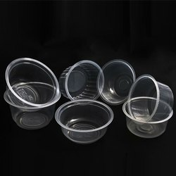 Transparent Disposable Plastic Bowl