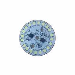 Ceramic LED 9 Watt DOB Bulb Plate, 9 W, Shape: Round