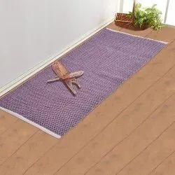 Purple And Grey Cotton Cosmorugs Prayer Mat