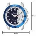 Jainx Blue Day and Date Functioning Analogue Watch for Men & Boys JM316