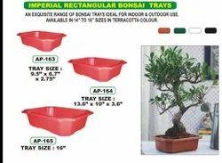 Rectangular Bonsai Tray