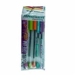 Plastic Hauser Gel Pens, Packaging Type: Packet